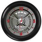 Gym Clock Powerlifting Bodybuilding Weights Keep Fit #1 - Can be personalised