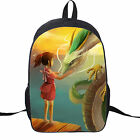 NEW Spirited Away Backpack School bag dragon bag fashion