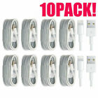 10 X LOT 8 Pin USB Data Sync Charger Cable for Apple iPhone 6s Plus 6 5s 5 SE/