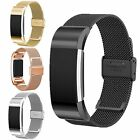 Mesh Milanese Stainless Steel Metal Watch Band Wrist Strap For Fitbit Charge 2