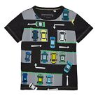 Bluezoo Kids Boys' Grey Car Print T-Shirt From Debenhams