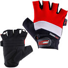 Weight Lifting Mesh Gloves Body Building Training Gel Padded Fingerless Cycling