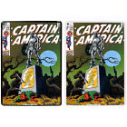 Comic Book Printed PC Case Cover For Apple iPad - Captain America - S-A895