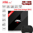 LOT 3GB / 32GB H96 Pro+ Amlogic S912 Octa Core Android 6.0 TV Box Set-top Fully