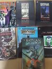 Batman Comic Lot of 7 graphic novel tpb hardcover deadman devil's advocate crims