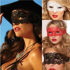 Sexy Chemise Babydoll LINGERIE Embroidered Venice Eye Mask Costume Role Play
