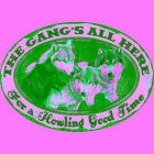 """Rivers Edge Products 1539 Tin Sign The Gang's All Here, Size 12"""" x 17"""""""