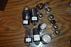 VINTAGE MINIATURE VACUUM TUBES TESTED OK  FROM TECHNICIANS BOX
