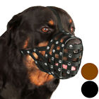 Leather Dog Muzzle Rottweiler Secure Basket Golden Retriever Black Brown