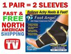 NEW Foot Angel Anti-Fatigue Compression Foot Sleeve for Plantar Fasciitis Relief