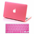"Rubberized Hard Shell Case for Mac Macbook AIR/ Pro/ RETINA 13""+ Keyboard Cover"