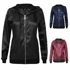Ladies Rain Coat Lightweight Festival Anorak Womens Coat Bomber Jacket Top