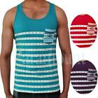 Soulstar Meso Striped Vest  Mens Size
