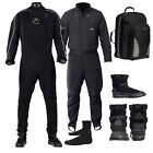 Aqua Lung Fusion ONE Dry Suit w/ Underwear, Boots, Socks & Backpack