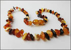 Genuine Multi- Color Blatic Amber Necklace - Choose quantyty