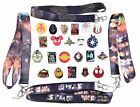 Star Wars Themed Starter Lanyard Set with 5 Disney Park Trading Pins ~ Brand NEW