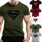 MENS GYM BODYBUILDING  T-Shirt  WORKOUT CLOTHING TRAINING TOP MOTIVATION