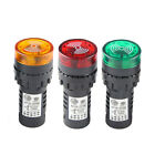 12 Volt Flashing Warning Buzzers - 3 Colours