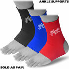 Ankle support Brace Leg Arthritis Injury Gym sleeve Elasticated Bandage Wraps 2X