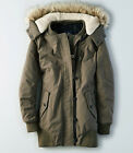 American Eagle Women Convertible Parka jacket hood size Small new with tags
