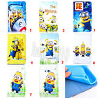 Despicable Me Minion Leather Wallet Case Cover For Samsung Tab 4 T530 10.1""