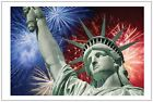 50 100 Patriotic Lady Liberty Statue Senator Representative Postcards Post Cards