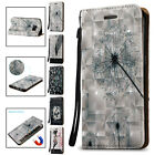 Flip Leather Phone Protector Strap Cover Case for Samsung Galaxy S7 / S7 Edge