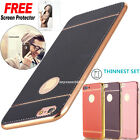 Luxury Ultra-thin Back Leather Case Cover Skin For iPhone 7 7 Plus & 6 6S Plus