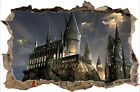HARRY POTTER HOGWARTS CASTLE BEDROOM  3D  SMASHED HOLE IN WALL DECAL