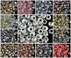 CHOOSE COLOR! 10g 6/0 (3.7-4.3mm) Etched Seed Beads Czech Pressed Glass $3.83 USD on eBay