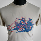 Easy Rider Retro Movie T Shirt Chopper Fonda Hopper Cult Classic Americana Cool