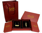 "Arabic Name ""HALIMA HALEEMA"" 18K Gold Plated Jewellery Gift Set For Her Gifts"