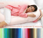 12ft Comfort U Pillow Case Only, Back Body Support Nursing Maternity Pregnancy