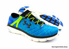 Under Armour men Fortis Twist running shoes - Blue Jet / Velocity / Black
