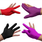 Good Nylon Indoor Billiard Snooker Pool Table Cue Shooters 3 Finger Gloves $0.8 USD