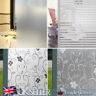 Bedroom Bathroom Home Glass Window Door Privacy Film Sticker PVC Frosted