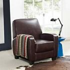 Faux Leather Reclining Home Theater Chair,  Multiple Colors NEW