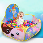 Kids Child Cat Ball Pit Pool Play Tent For Baby Indoor Outdoor Game Toy New