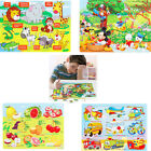 Kid's Wooden Jigsaw Puzzle 60 Pieces Baby Intelligence Educational 3-7Year Toys