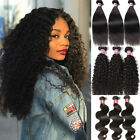 300g 7A Brazilian Curly Hair 3 Bundles UNice 100% Brazilian Human Hair Extension