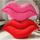 Lips Shape Home Sofa Chair Car Throw Cushion Pillow Cover Case Lumbar Support