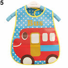 Cute Baby Boy Girl Kids Bibs Waterproof Saliva Towel Cartoon Bib Feeding Bandana