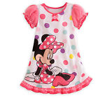 Summer Toddler Baby Girls Minnie Mouse Party Swing Dress Kids Cute Cartoon Skirt