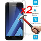 2Pcs Tempered Glass Screen Protector Film For Samsung Galaxy A3 A5 A7 2017 /2016