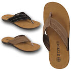 Mens Toe Post Flip Flops Flat Beach Holiday Casual Summer Sandals Shoes Size UK