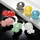 Chic Octopus Ceramic Single-hole Cabinet Knobs Drawer Cupboard Door Pull Handles