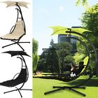 Popular Swing Hammock Chair canopy Arc Stand Hanging Chaise Lounger Best Choice