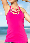 NEW Womens Lorna Jane Activewear   Rose Excel Tank