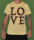 T-SHIRT MASCHILE LOVE AMORE MAGLIETTA IDEA REGALO SUBLI DESIGN FASHION STYLE 113
