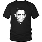 Barack Obama T-shirt, Obama Eye Winking Portrait T-shirt by Egoteest